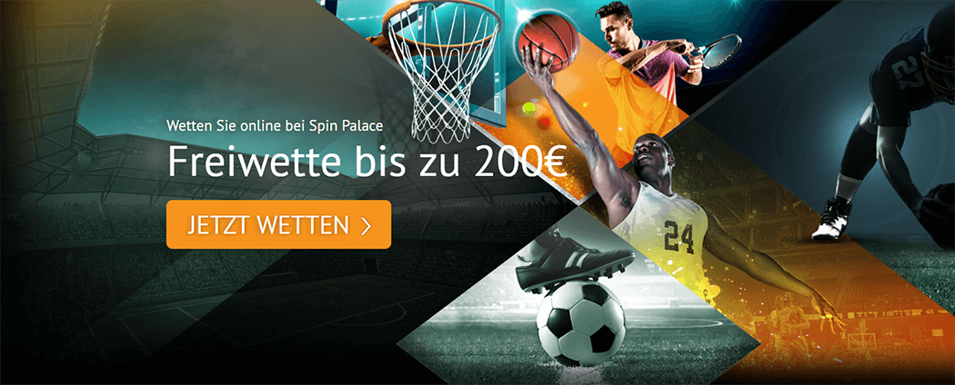 Die Spin Palace Sports Freiwette